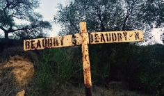 Some hiking trails in LA are older than others as this sign demonstrates