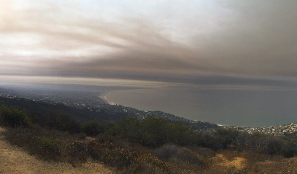 The Los Liones trail in Santa Monica can be hiked at any time of year