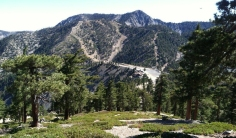 Mount Baldy is by far the most challenging hiking trail near LA
