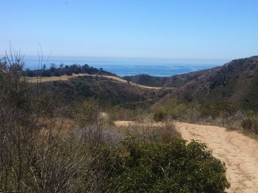 Another lovely hiking trail in Malibu with fantastic views and an easy climb