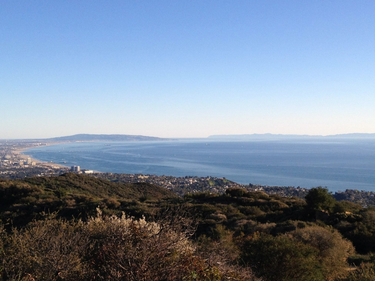 Probably the most beautiful view from hiking trails near LA