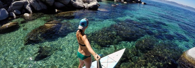 SUP is the new sport to try! LA is a popular destination for group lessons.