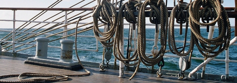 Nautical knots are essential when renting a boat
