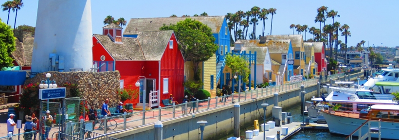 One of LA's most visited harbors is Marina Del Rey