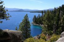 Emerald Bay from Rubicon Trail