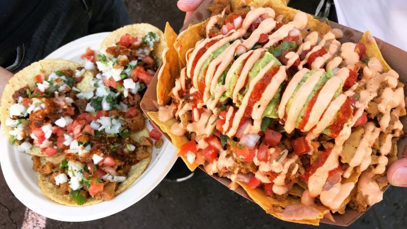 Vegan options at Smorgasburg LA